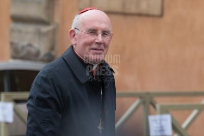 Vatican City: cardinal Seán Baptist Brady - IX Congregation of Cardinals before the election of Pope Francis. Photo: Gustavo Kralj/GaudiumpressImages