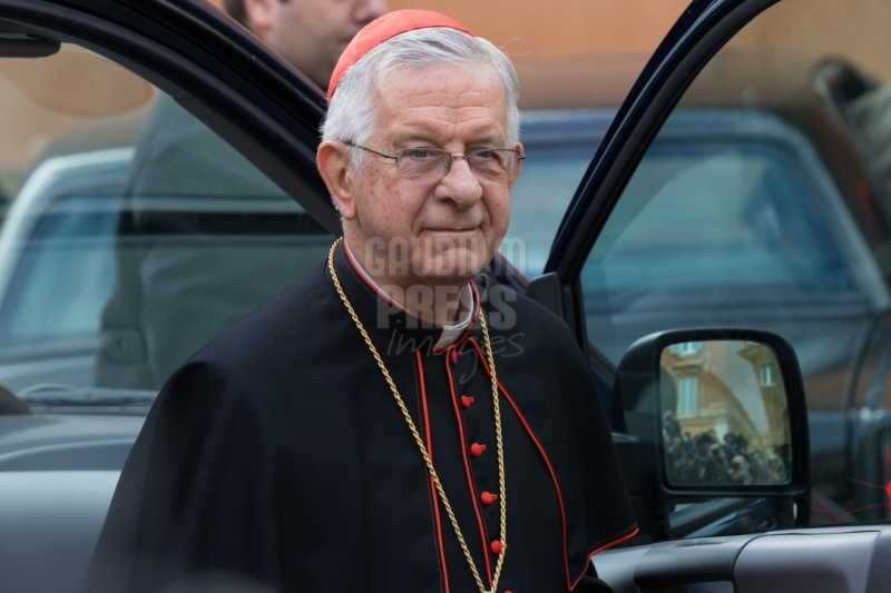 Vatican City:  Cardinal Geraldo Majella Agnelo from Brazil - IX Congregation of Cardinals before the election of Pope Francis. Photo: Gustavo Kralj/GaudiumpressImages