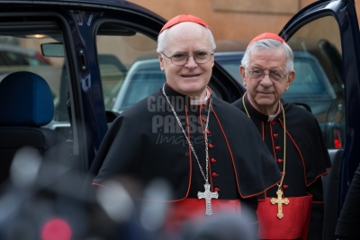 Vatican City: IX Congregation of Cardinals before the election of Pope Francis. Photo: Gustavo Kralj/GaudiumpressImages