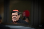 Vatican City: Cardinal Norberto Rivera Carrera from Mexico