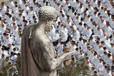Clergy - Mass of Beatification of Pope John  Paul II - St Peter Square - Rome, Italy