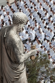 Mass of Beatification of Pope John  Paul II - St PEter Square - Rome, Italy
