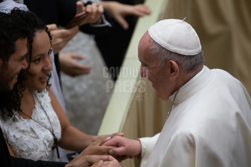 Pope Francis Audience - Paul VI room - Vatican City EDITORIAL USE ONLY