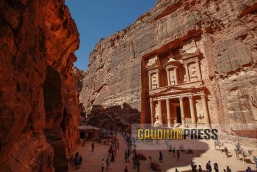 the treasury or al Khazna - Petra - Jordan